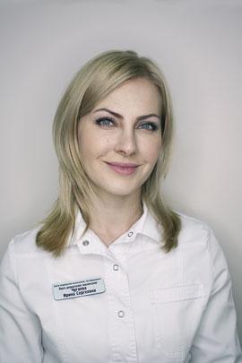 Чугаева Ирина Сергеевна Врач-косметолог