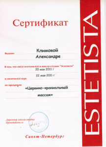 Сертификат Климова А. 6